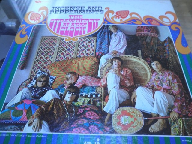 THE STAWBERRY ALARK CLOCK - INCENSE & PEPPERMINTS orig US psych LP