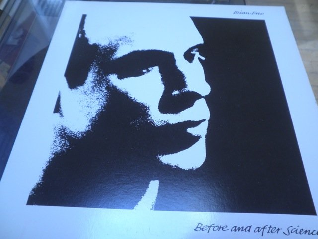 BRIAN ENO - BEFORE AND AFTER SCIENCE 1977 LP mint