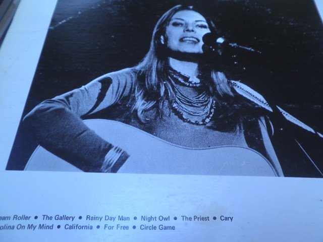 JONI MITCHELL & JAMES TAYLOR 70's LIVE not tmoq LP