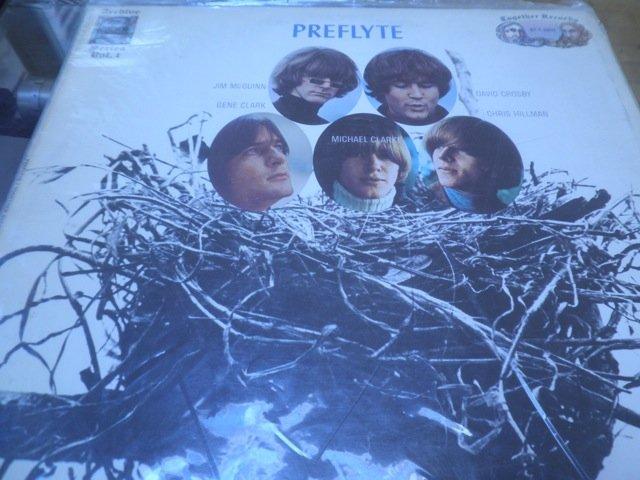THE BYRDS - PREFLYTE together records LP M-