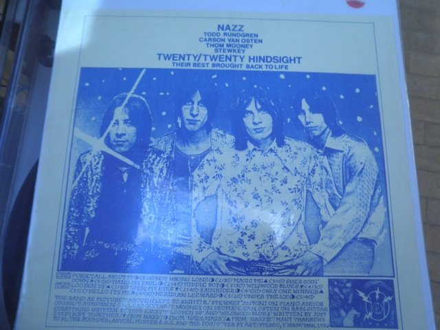 NAZZ TODD RUNDGREN TWENTY / TWENTY HINDSIGHT not TMOQ LP M-