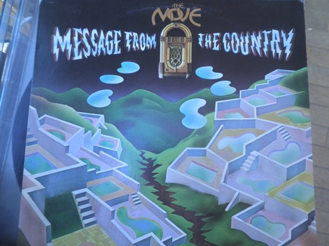 THE MOVE - MESSAGE FROM THE COUNTRY LP NM
