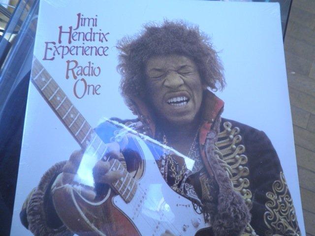 JIMI HENDRIX - RADIO ONE still sealed rykodisc 2 LP