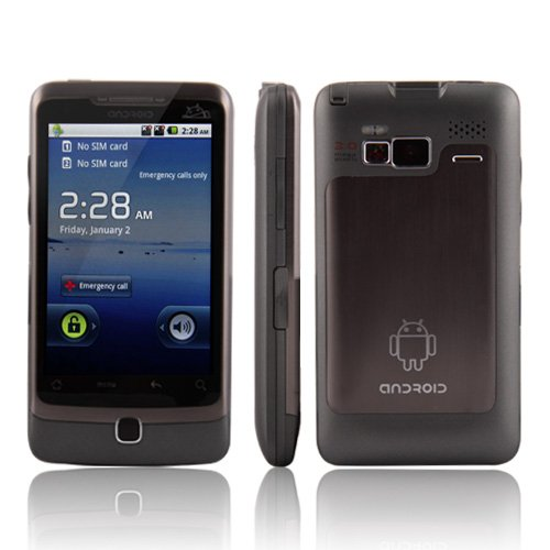 "A5000 Android 2.2 Dual SIM WIFI TV GPS 3.5"" Touch Screen Cell Phone"