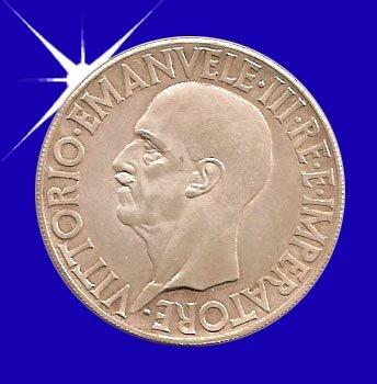 """""""20 LIRA 1936 Vittorio EMANVELE III"""""""