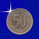 """""""50 DINARA 1987 Jugoslavije"""""""