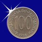 """""""100 DINARA 1988 Jugoslavije"""""""