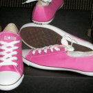 New women CONVERSE as light ox size 10 m pink/white