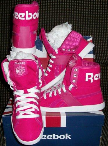 New women Reebox sneakers top down size 7.5 m