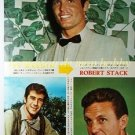 Ty Hardin Robert Fuller Robert Stack / Yvette Mimieux clipping pinup 1962 : 62s1