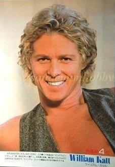 William Katt / Cheryl Ladd clipping pinup 1980 : 80s5