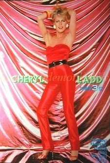 Cheryl Ladd / Paul Newman clipping pinup 1980 : 80s5