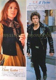 Al Pacino, Diane Keaton / many stars  clipping pinup 1980 : 80s5