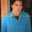 Tom Cruise clipping pinup 1984 : 84s7