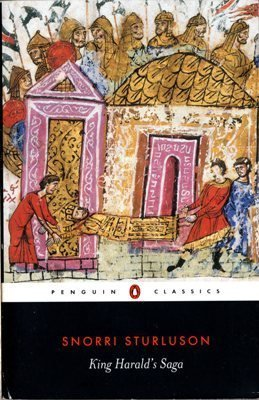 King Harald's Saga by Snorri Sturluson Icelandic Book 0140441832