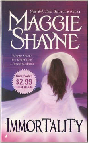 Immortality by Maggie Shayne Paranormal Romance Short Story Book Novel 0515140783