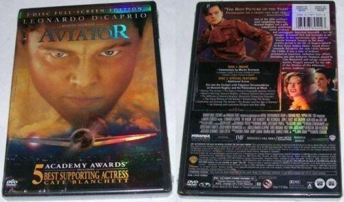 The Aviator Leonardo DiCaprio Full Screen Edition Region 1 DVD Movie 0790795248 PG 13
