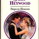 Steps to Heaven by Sally Heywood Harlequin Presents Romance Book - Ex-Library Book -