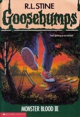 Monster Blood III by R. L. Stine Goosebumps Fiction Fantasy Children's Book #29
