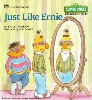 Just Like Ernie by Emily Thompson Goldencraft Fiction Fantasy Children Book