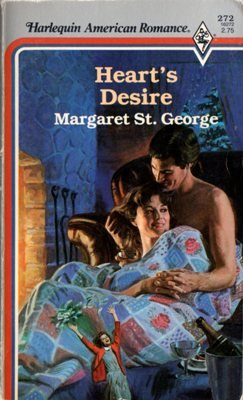 Heart's Desire by Margaret St. George Harlequin American Romance Book 0373162723