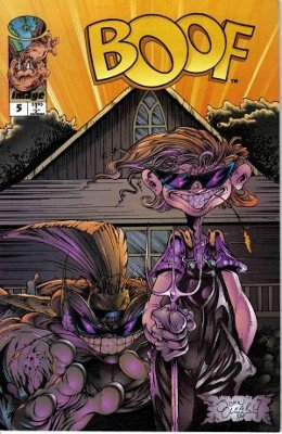 Boof #5 Farmin' and Charmin Pin-Ups Todd McFarlane Beau Smith Image Comic
