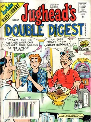 The Contested Prize Jughead's Double Digest Magazine #67 ISSN 10615482 Book
