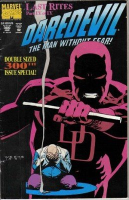 The Man Without Fear Last Rites Part IV of IV DareDevil 300Th Issue Vol. 1 Marvel