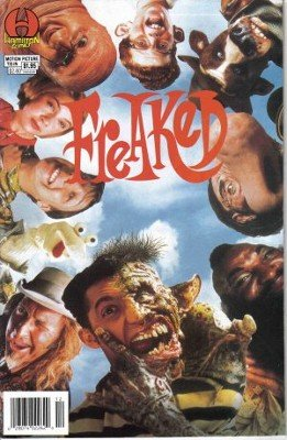 Freaked Hideous Mutant Freekz Motion Pictures Tie-In John Clark Hamilton Comic Book