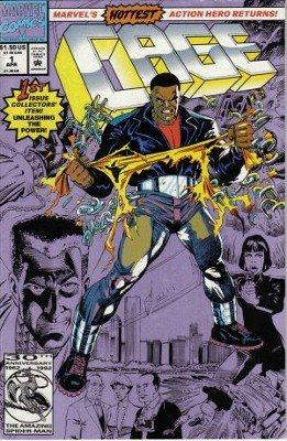 Luke Cage Vol. 1 No. 1, The Drowning Man, April 1992, 1st Issue, Marvel Cartoon Comic