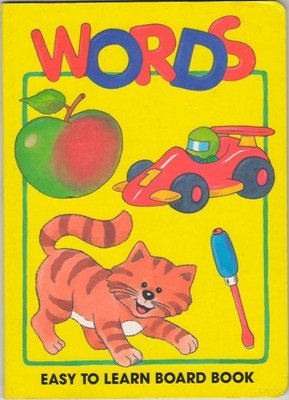Words Easy To Learn Board Book Roger De Klerk 9780710505309