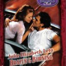 Brazen & Burning by Julie Elizabeth Leto Harlequin Temptation Romance Book Fiction Novel Love