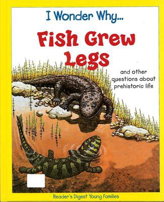 I Wonder Why Fish Grew Legs by Jackie Gaff Hardcover 0753457628
