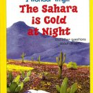 I Wonder Why The Sahara Is Cold At Night by Jackie Gaff Hardcover 0753457644