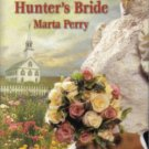 Hunter's Bride by Marta Perry Inspirational Romance Novel Fiction Fantasy Book
