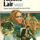 Falcon's Lair by Claudette Virmonne Suspense Romance Book 0373500807