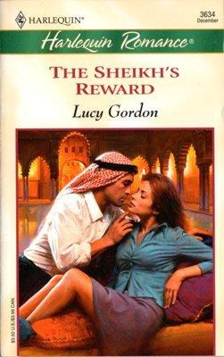 The Sheikh's Reward by Lucy Gordon Harlequin Romance Book Novel 0373036345