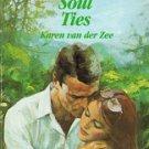 Soul Ties by Karen van der Zee Harlequin Romance Book Novel 0373026528