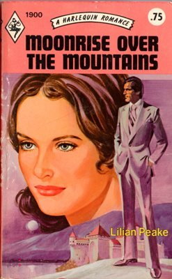 Moonrise Over The Mountains by Lilian Peake Harlequin Romance Book 0373019009
