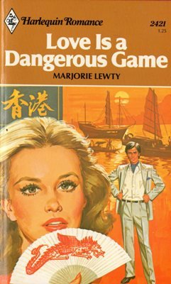 Love Is a Dangerous Game by Marjorie Lewty Harlequin Romance Book Novel 0373024215