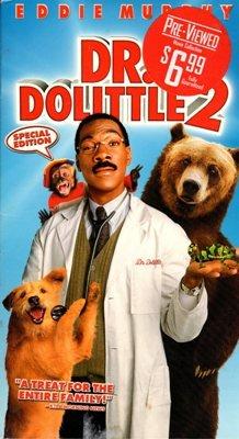 Dr. Dolittle 2 Eddie Murphy VHS Kristen Wilson Video Dog PG Family Movie Creatures