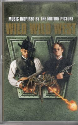 Wild Wild West by Will Smith Hero Stick Up by Lil' Bow Wow Music Cassette Tape