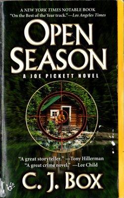 Open Season by C. J. Box A Joe Pickett Mystery C J Ex-Library Book Paperback 042518546X