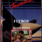 Flyboy by Janice Kaiser Harlequin Temptation Book Novel Paperback 0373255446