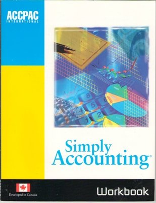 Workbook Simply Accounting ACCPAC International Version 7.0 Book Microsoft Windows