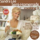 Sandra Lee Semi-Homemade Cooking 3 Cookbook Book 0696238144