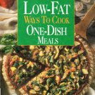 Low-Fat Ways To Cook One-Dish Meals Cooking Light Cookbook 0848722027