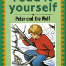 Peter And The Wolf by Fran Hunia Kathie Layfield Hardcover Book 0721451284