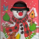 Let's Make A Snowman Playmore Inc Cut Out Board Child Children Baby Book 159060153X