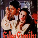 False Family by Mary Anne Wilson Shadows Ex-Library Novel Book 0373270453